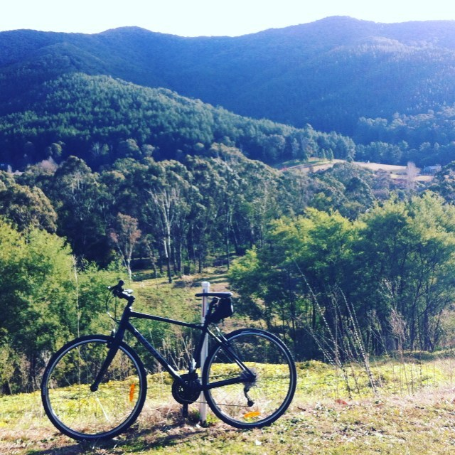 Beautiful ride today in a stunning location near Bright. Heart and lungs defiantly working hard! #myotherapyandmovementclinic #wandiligong #myotherapycamberwell #solobike.aus