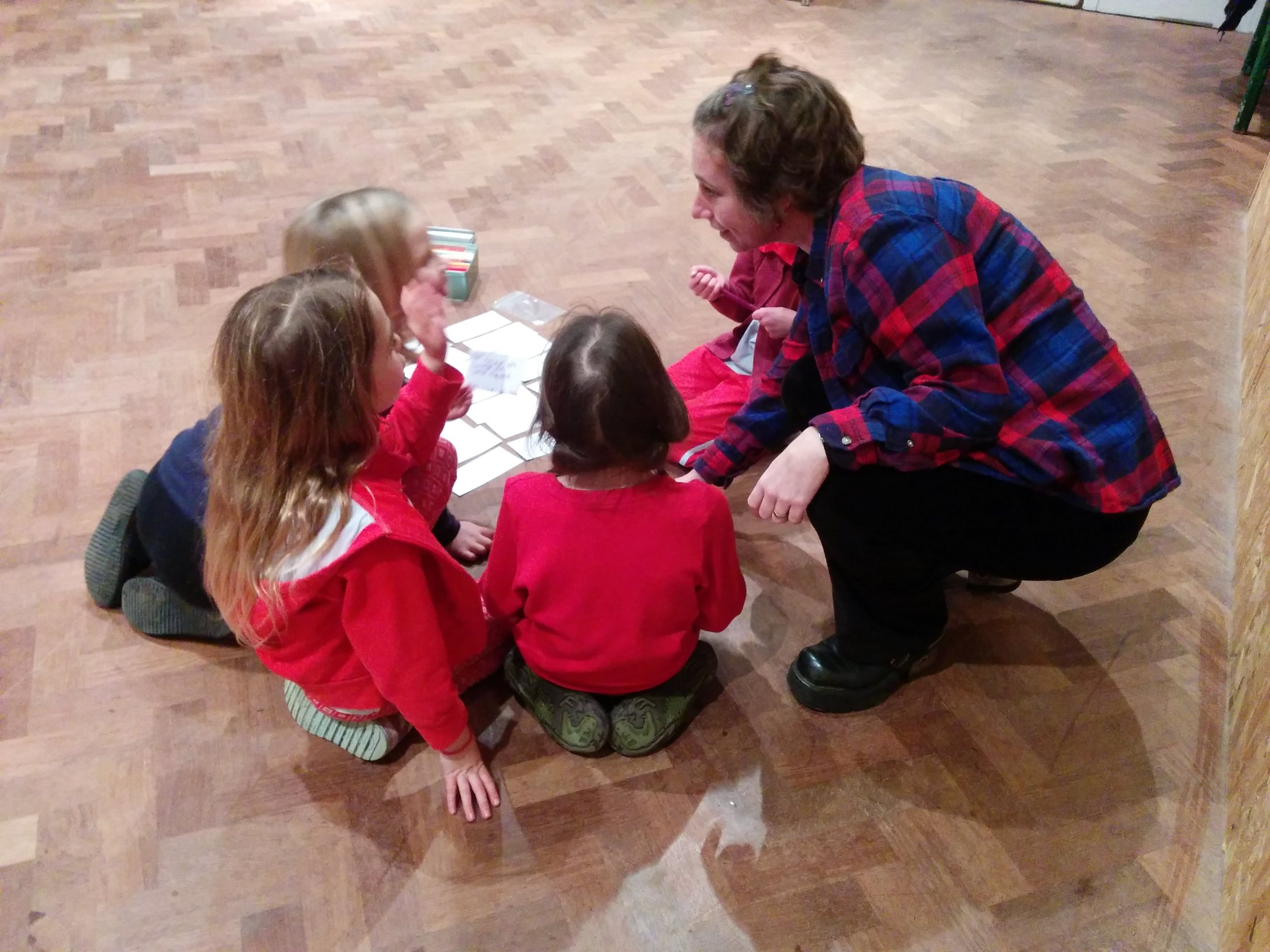 Running a workshop for young girls on self esteem