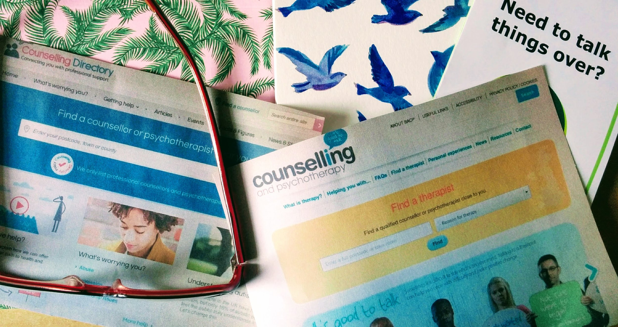 Choosing a counsellor can feel like a big task