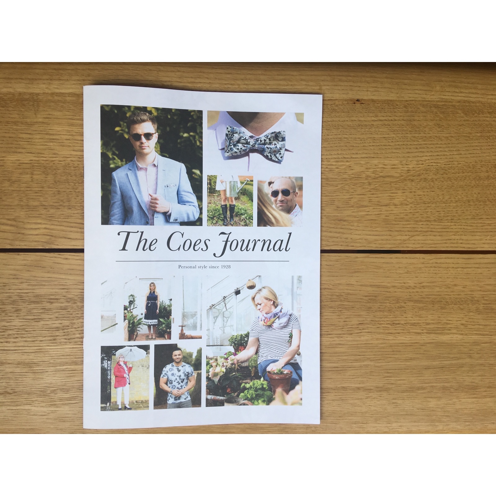 "Coes Summer Journal 2018 ""Live Life in Full Bloom"""
