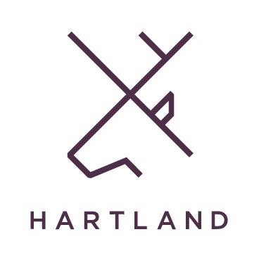 Hartland Communications. Branding by WHAT associates Ltd
