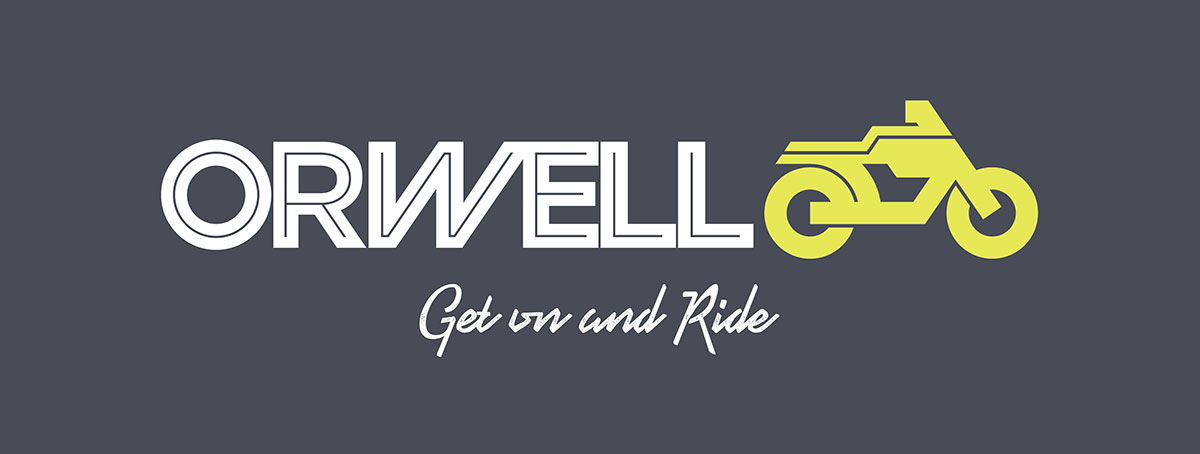 Orwell Motorcycles new brand identity
