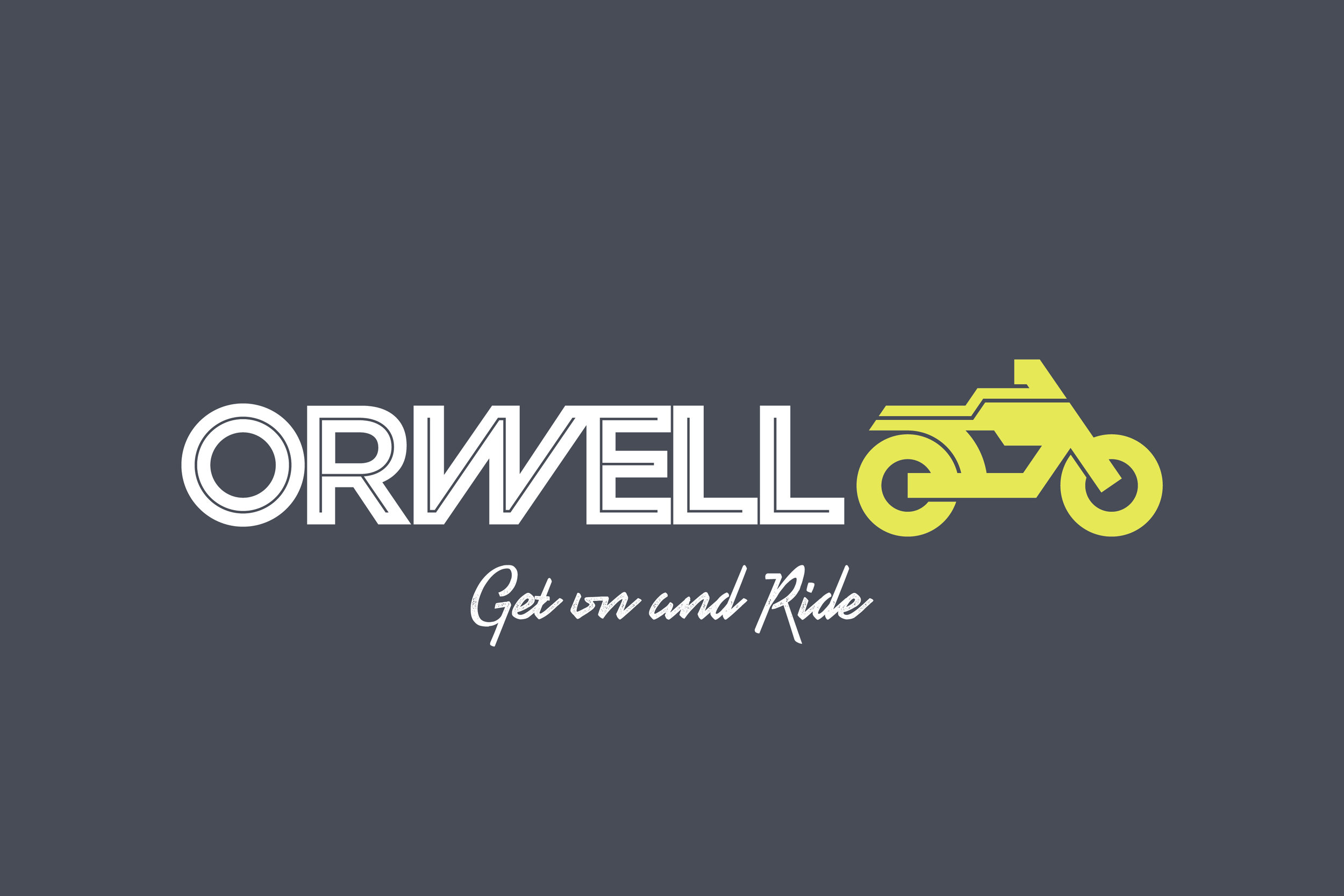 Orwell_Horizontal_Tag Line_Yellow Bike_White text.jpg