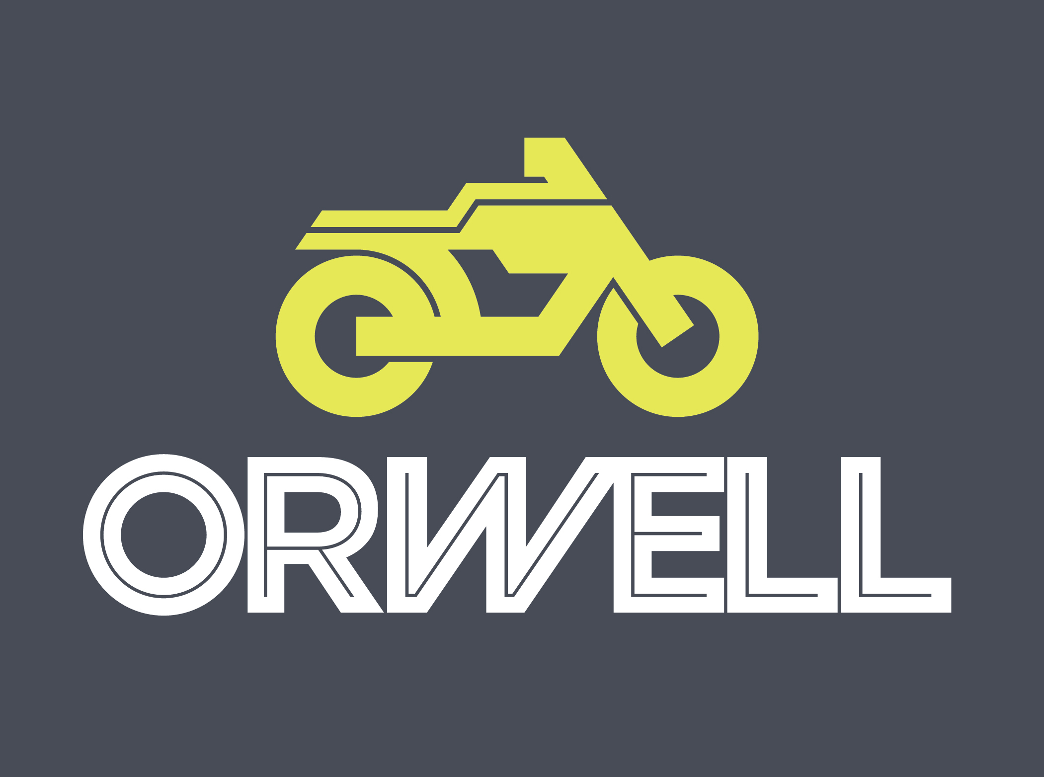Orwell_Stacked_Yellow Bike_White text.jpg