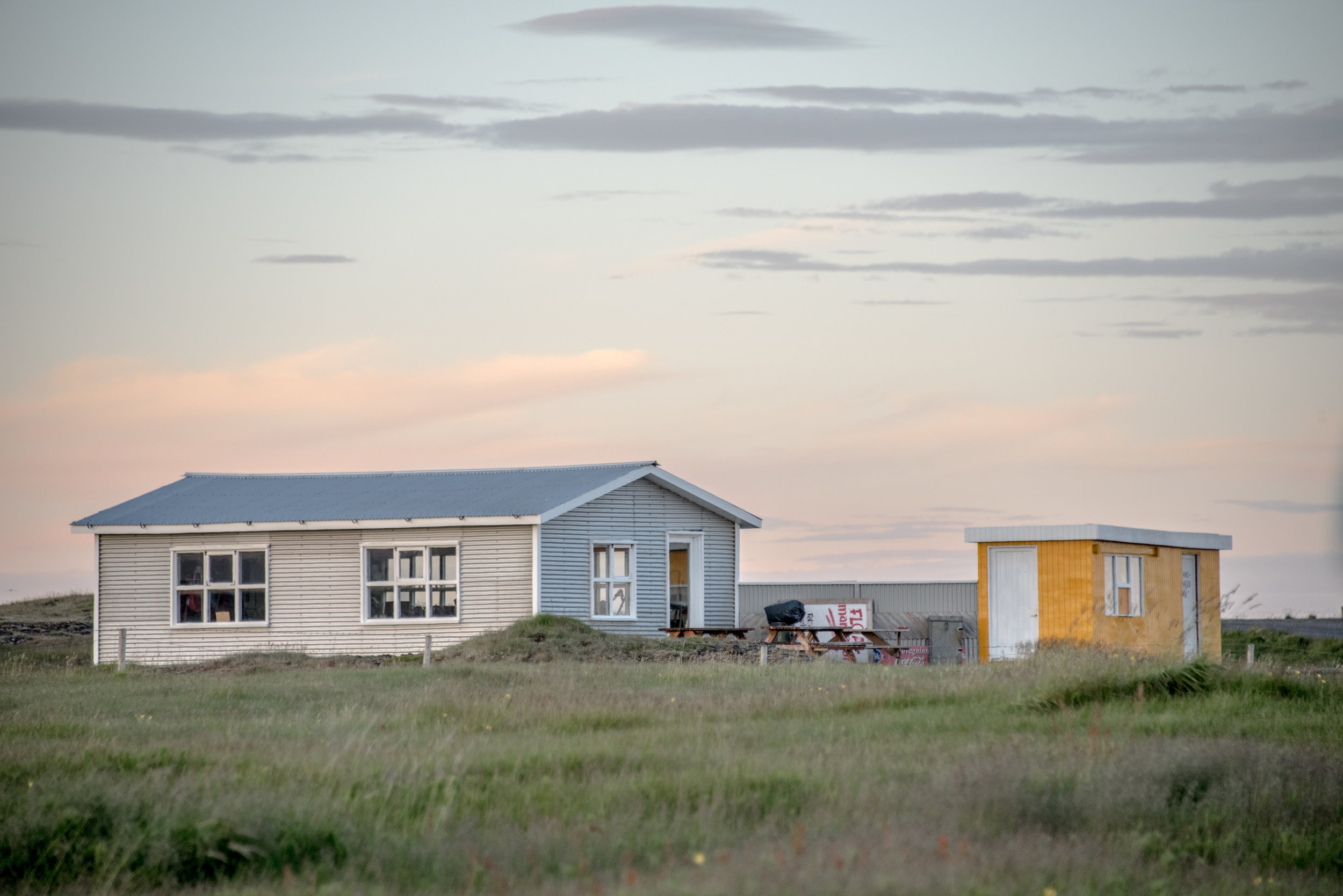 A free campsite along Route 427, less than a day's ride from Keflavik Airport.