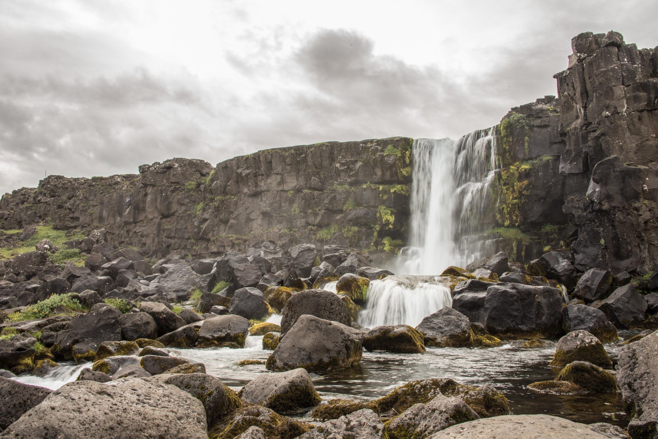 Oxararfoss, Iceland. Shot on DSLR (Nikon D750).
