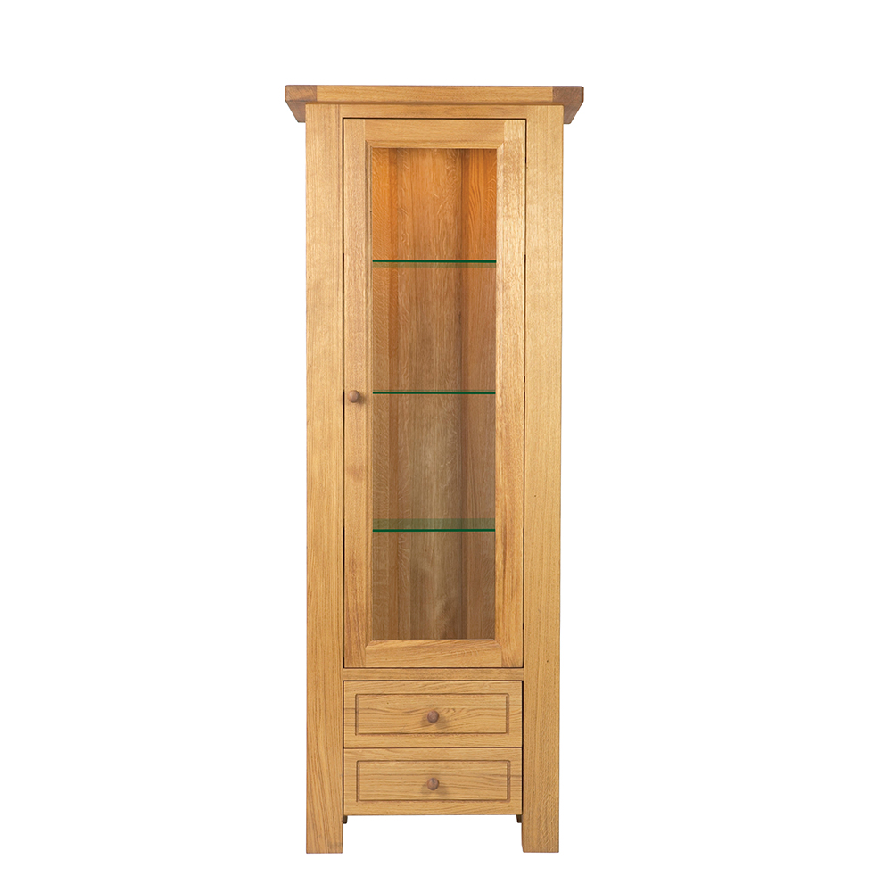 Bretagne Display Cabinet with Light