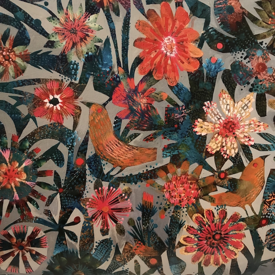 Autumn Flowers. The image for October 2019