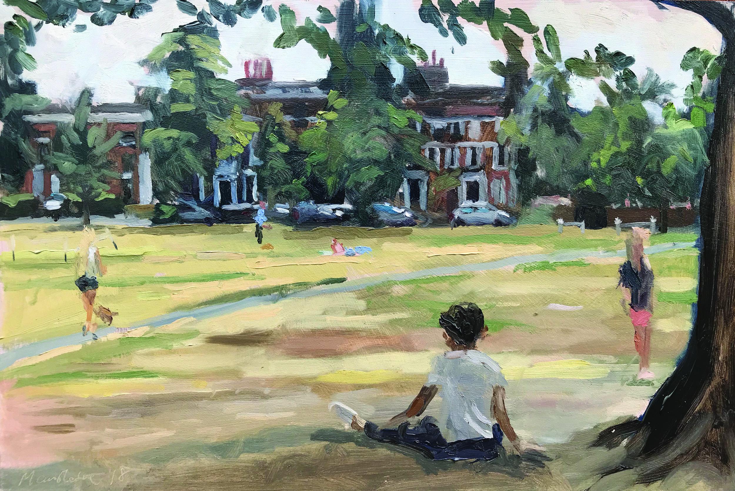 'Richmond Park', by Sarah Manolescue