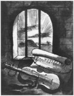 Still life by Bedrich Fritta, 1943.