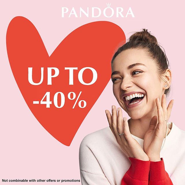 PANDORA SALE!  What are you waiting for? Visit our boutiques and get your favourite PANDORA jewellery at the best price.  Ends 28th August 2019.  Available at:  PANDORA Boutique 133 Main Street Gibraltar T.+350 200 77752  Essardas 64 Main Street Gibraltar T.+350 200 78441  Crown Jewels 121 Main Street Gibraltar T. +350 200 77756  www.essardasgroup.com info@essardasgroup.com  TAX FREE SHOPPING  #PANDORA #sales #upto40% #silverjewellery #VisitGibraltar #Gibraltar #essardasgroup #essardasluxury #taxfreeshopping #mainstreetgib #LoveGibraltar #taxfree #charms #earrings #bracelets #necklaces #lovepandora #PANDORIANS