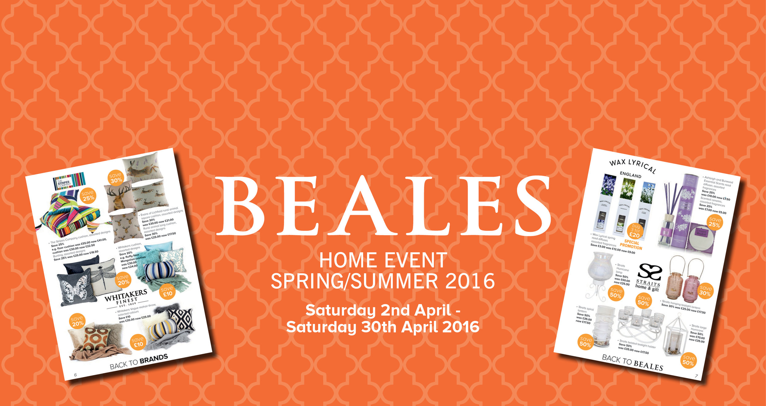 Spring Summer Home Event 2016