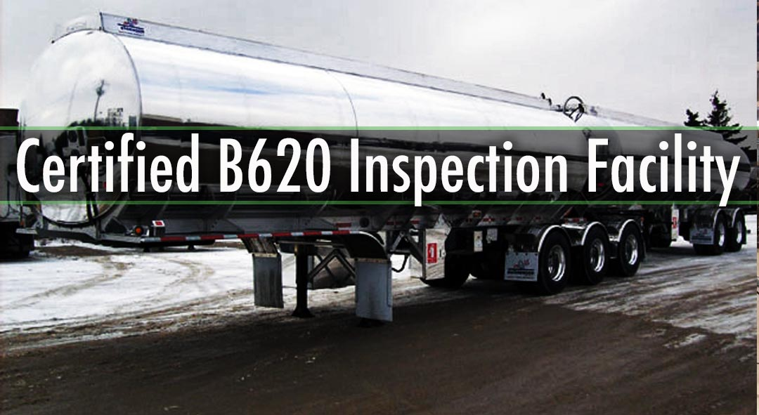Certified B620 Inspection Facility  PVIK, U/C Inspections Tanker Parts Distributor: Traction, Betts, BTI, etc.. Specializing in Stainless Steel & Aluminum Tank Welding Full Steam & Wash Facility Hose Certification Insurance Claims SGI Approved Facility