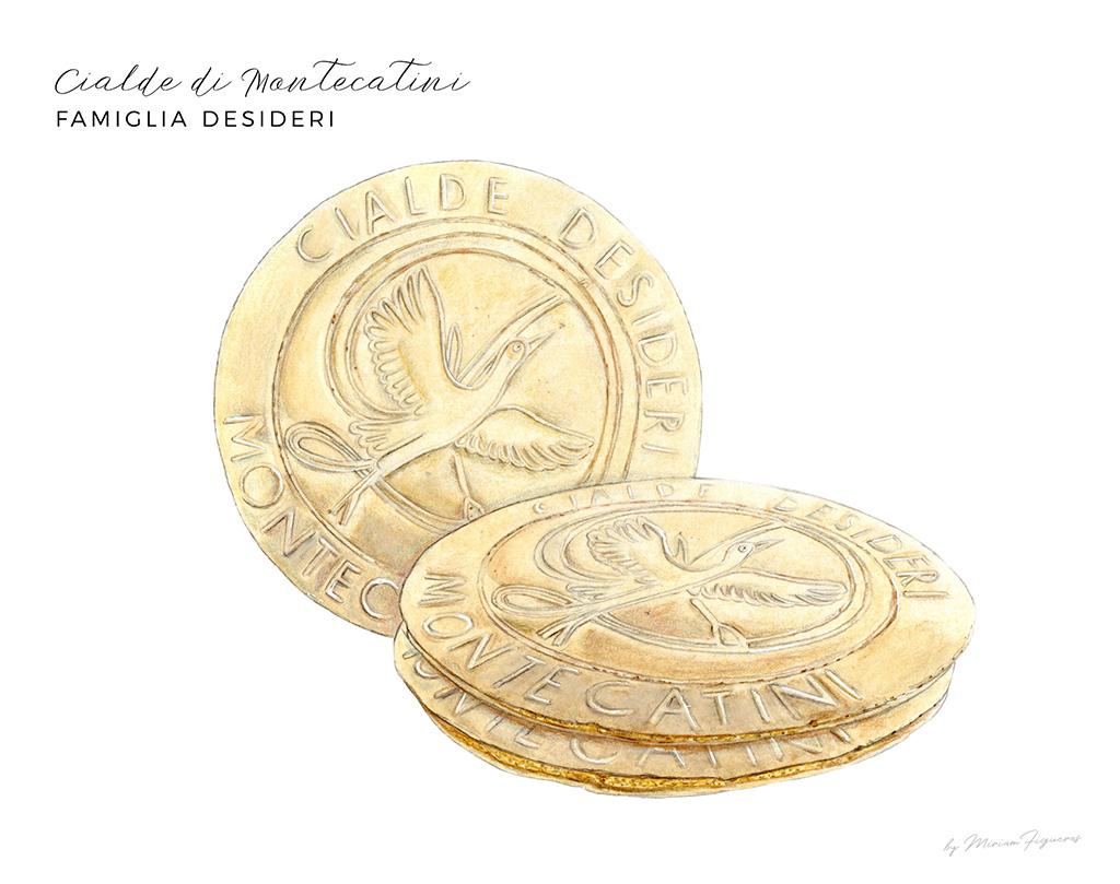 Le Cialde di Montecatini from   Famiglia Desideri  .