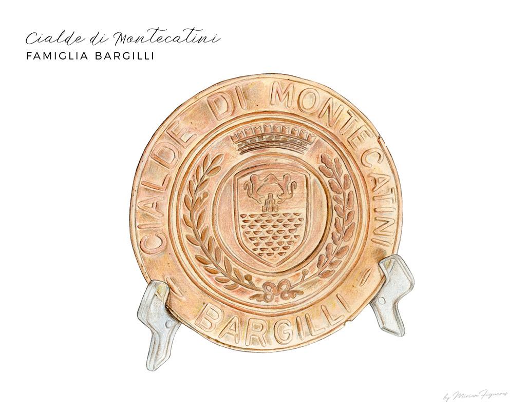 Le Cialde di Montecatini from   Famiglia Bargilli  .