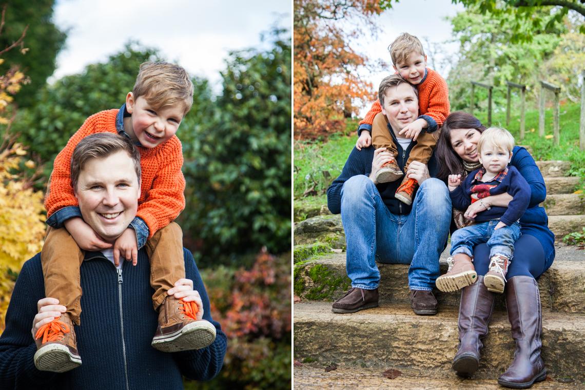 family portrait shoot, wakehurst place, sussex