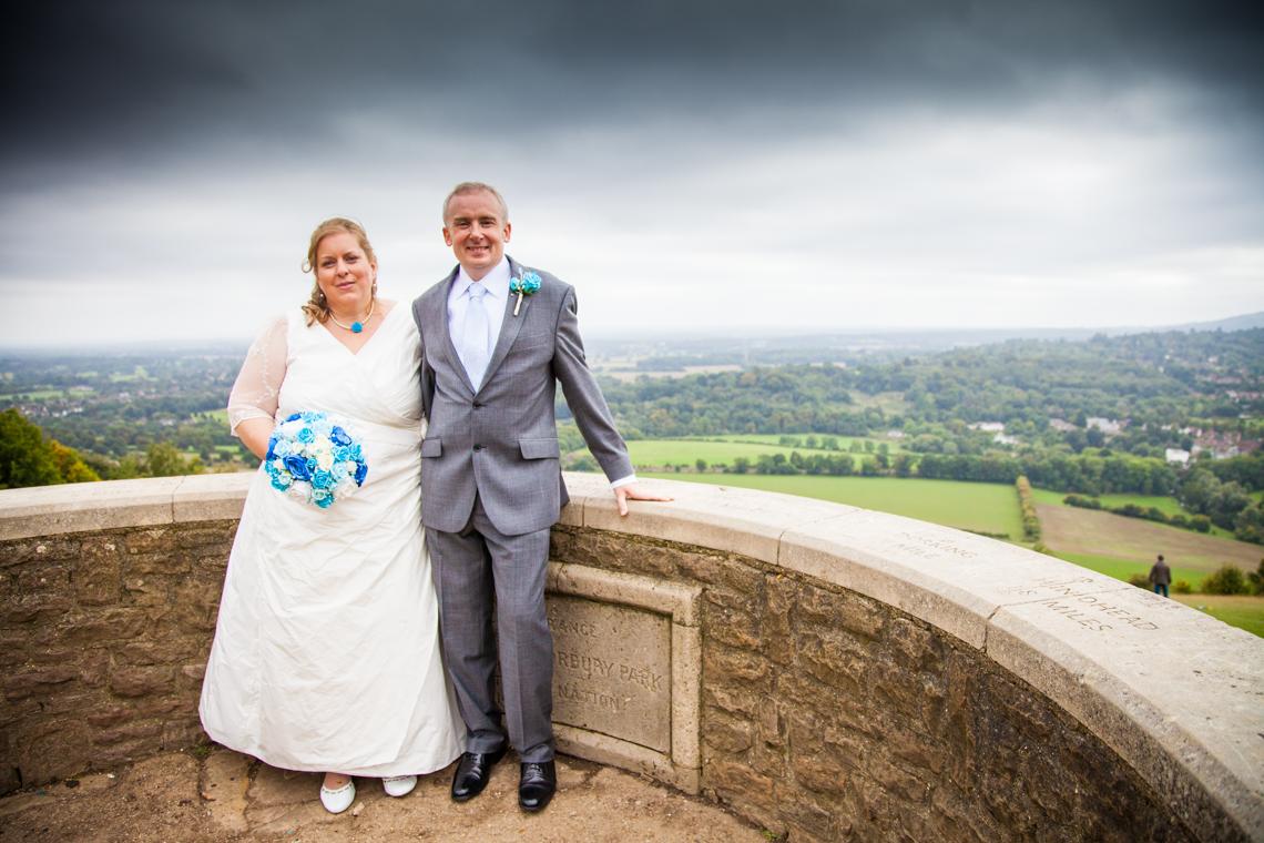Burford Bridge Wedding  -1006