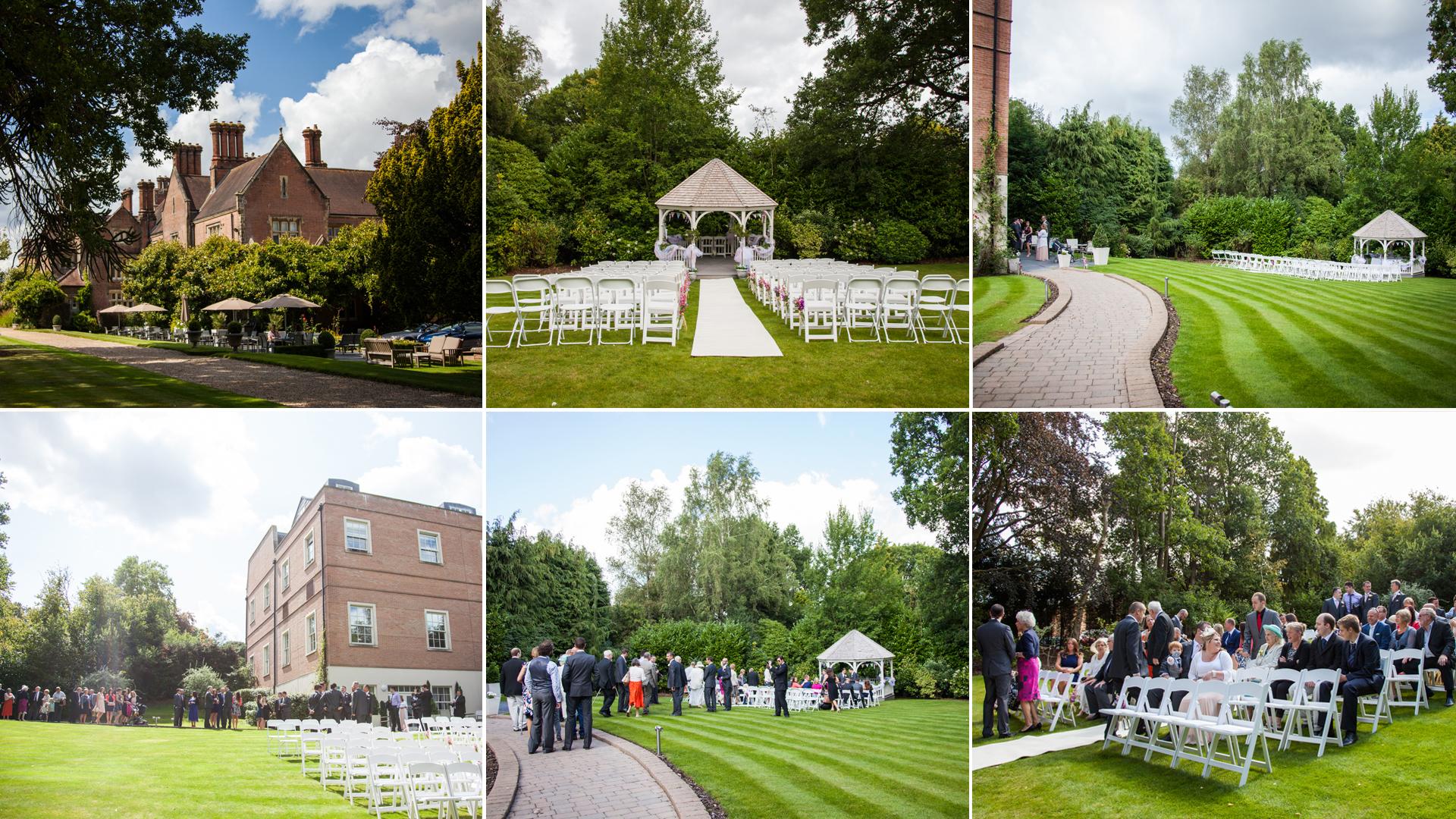 alexander house wedding photography,  sussex wedding photographer, outdoor ceremony