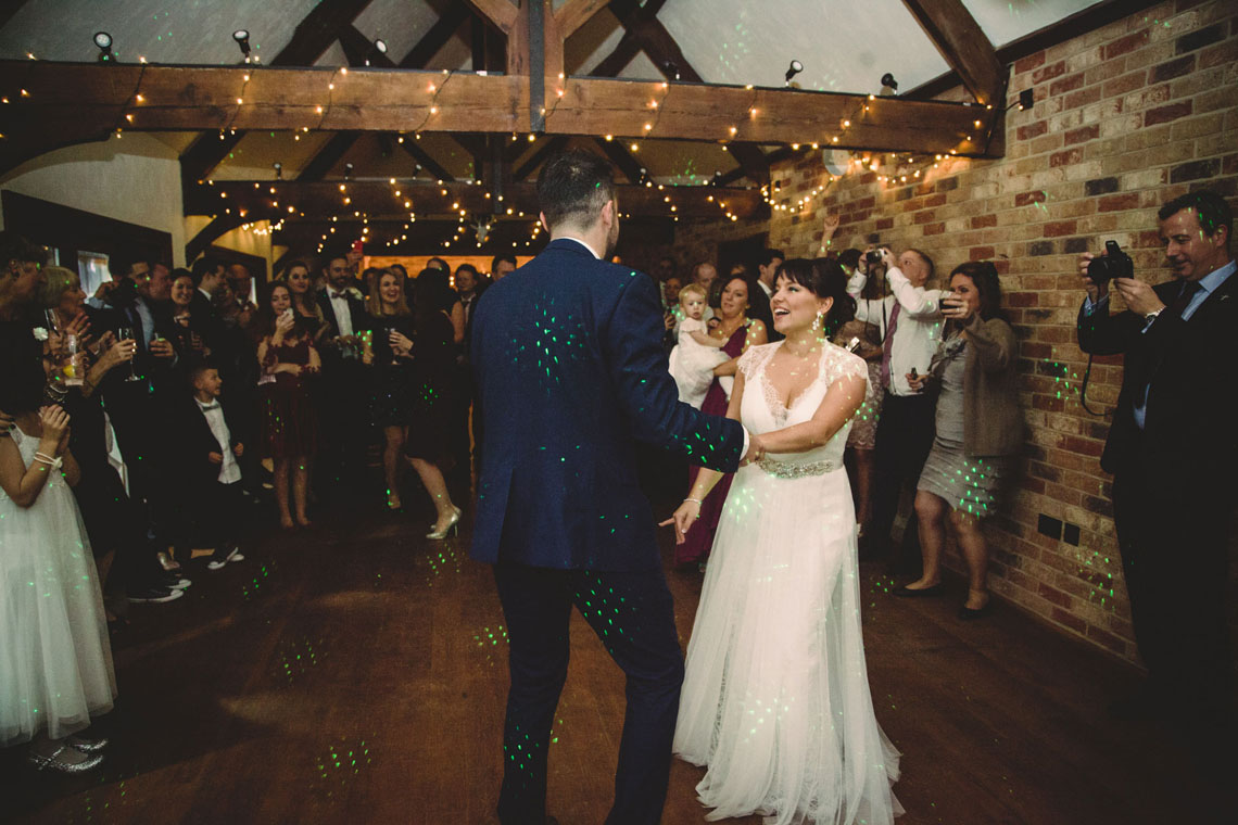 first dance, long furlong barn wedding
