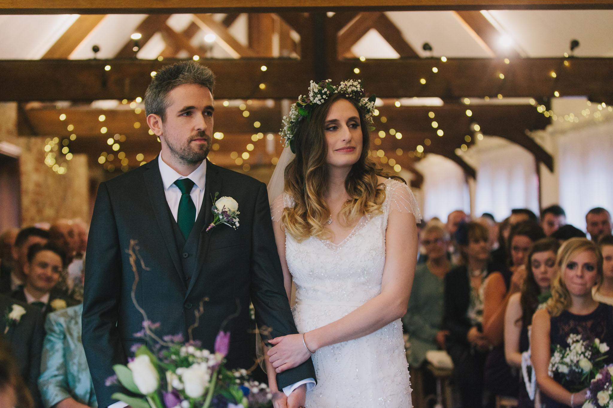 long furlong barn sussex barn wedding