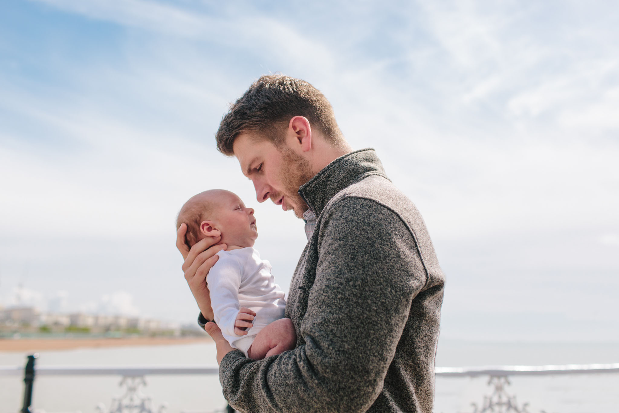 natural and honest family and newborn photographer, brighton