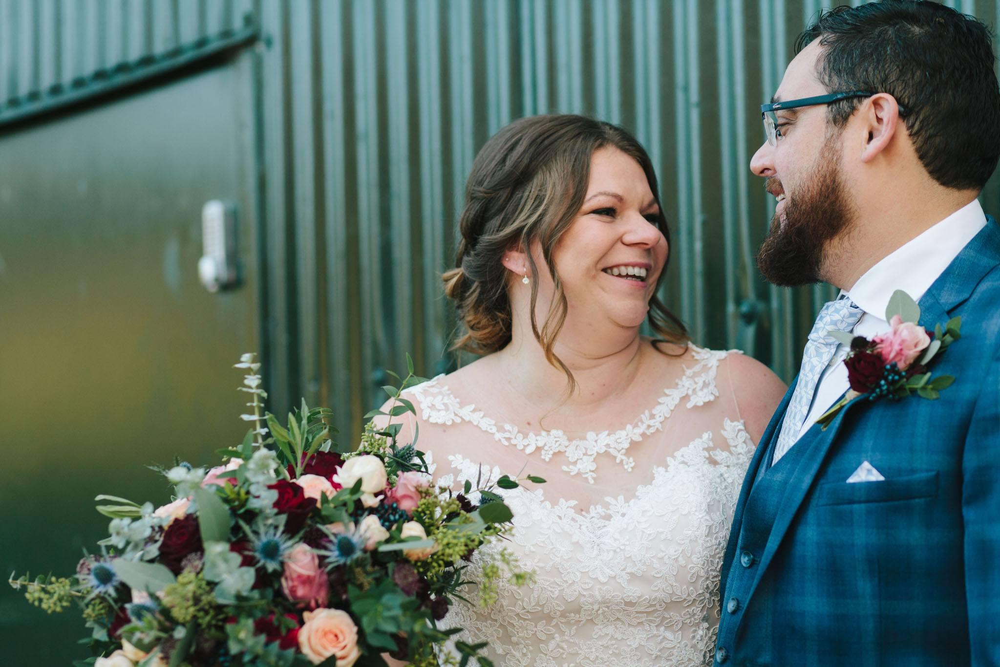 upwaltham barns winter wedding