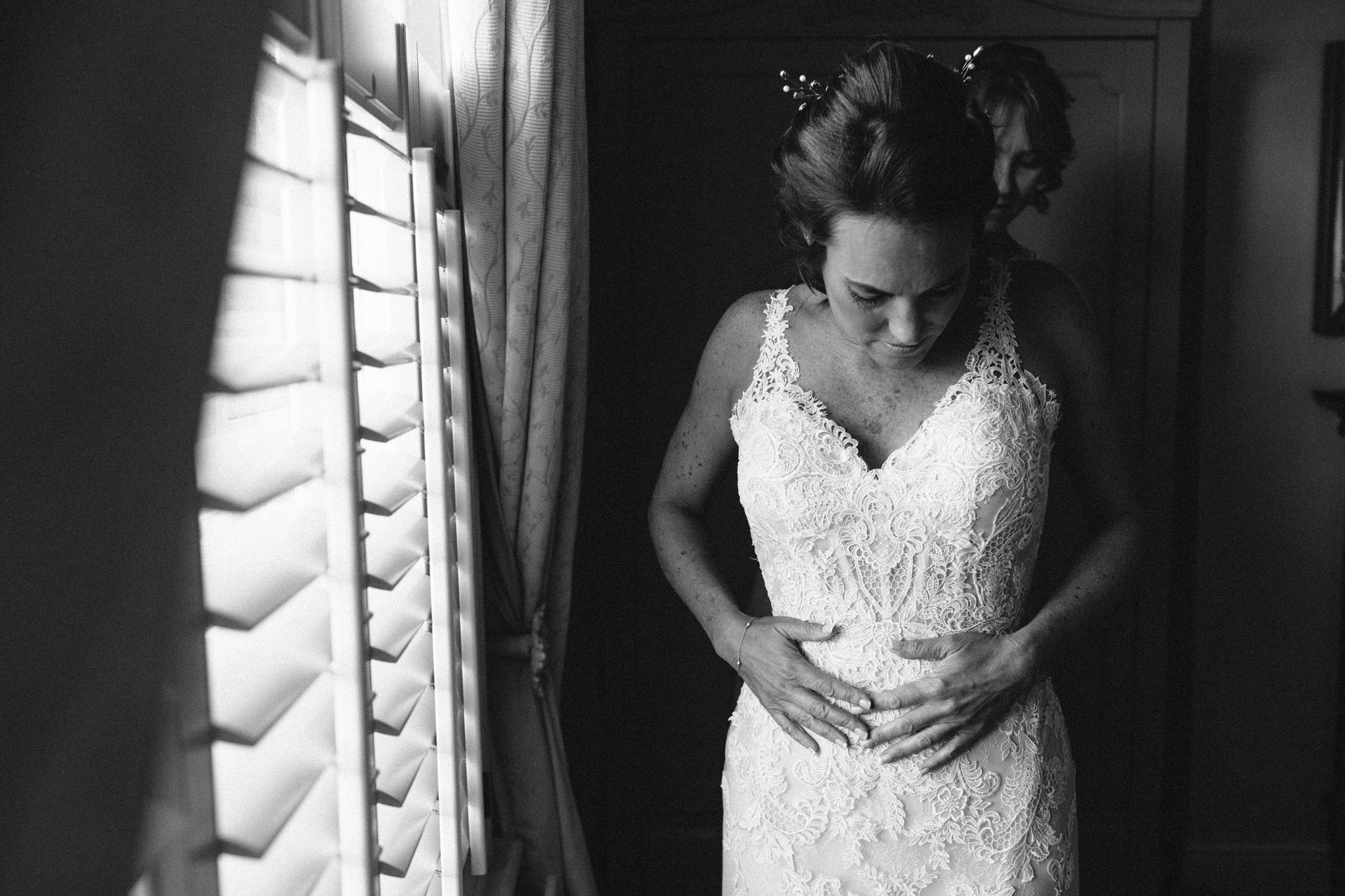 black and white documentary wedding photographers near me