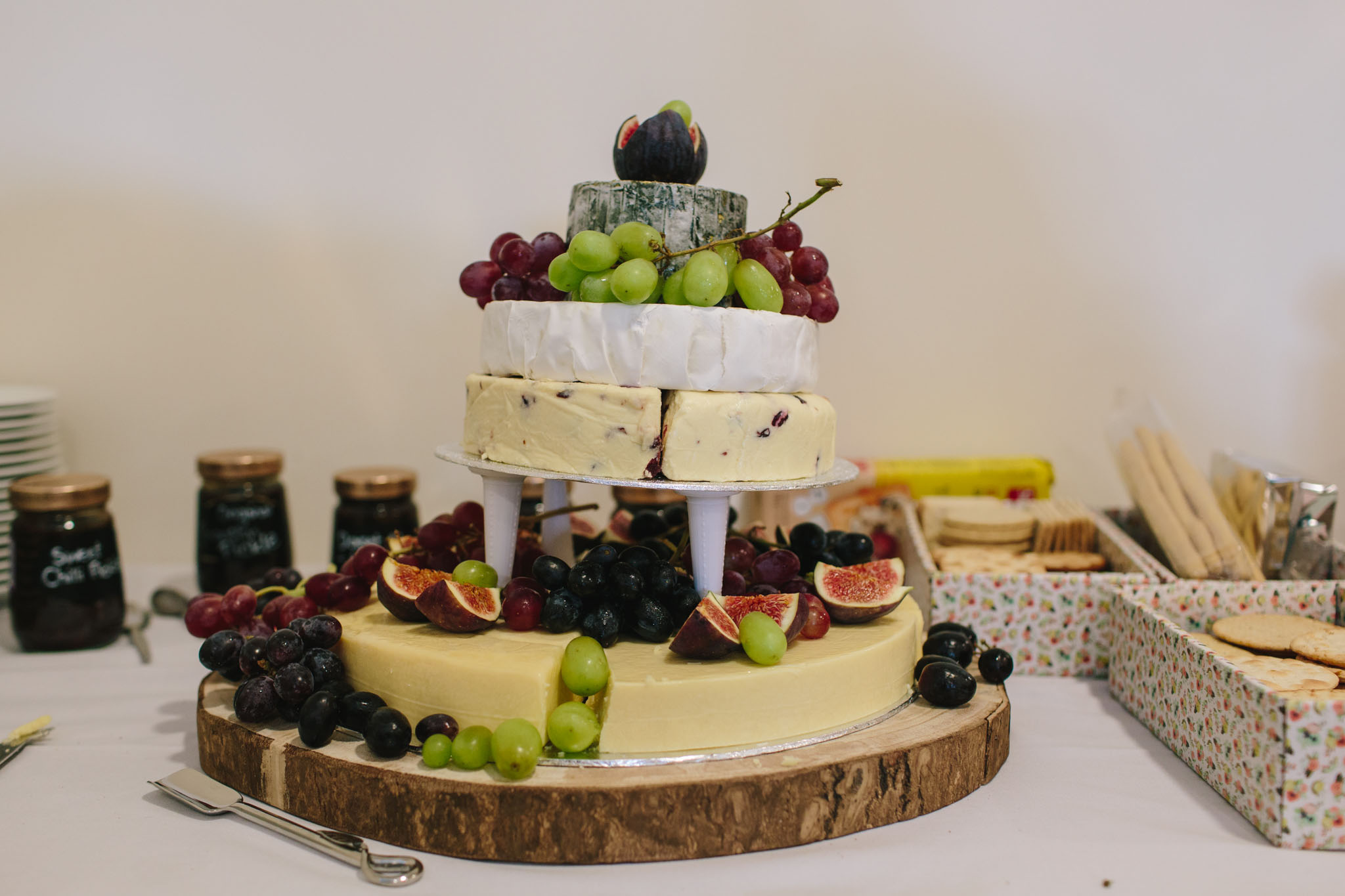 cheese cake wedding cake ideas surrey