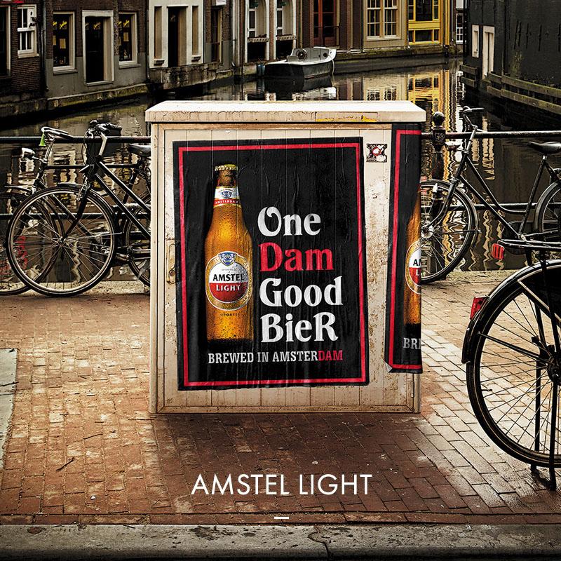 Amstel Light - One Dam Good Beer