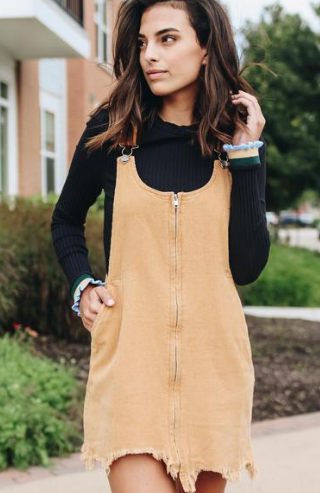 Corduroy Dress
