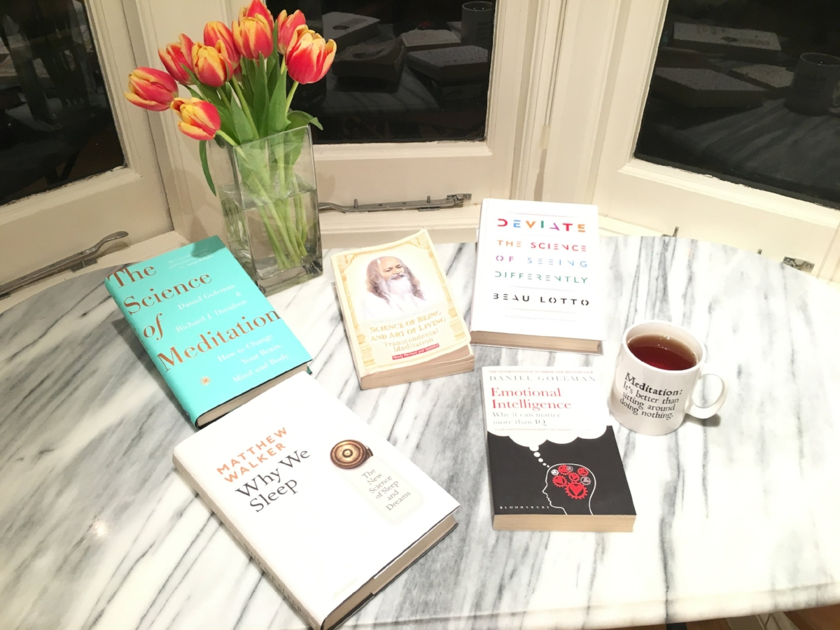 five books about meditation