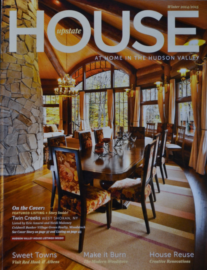 Upstate House Winter Magazine cover 2014