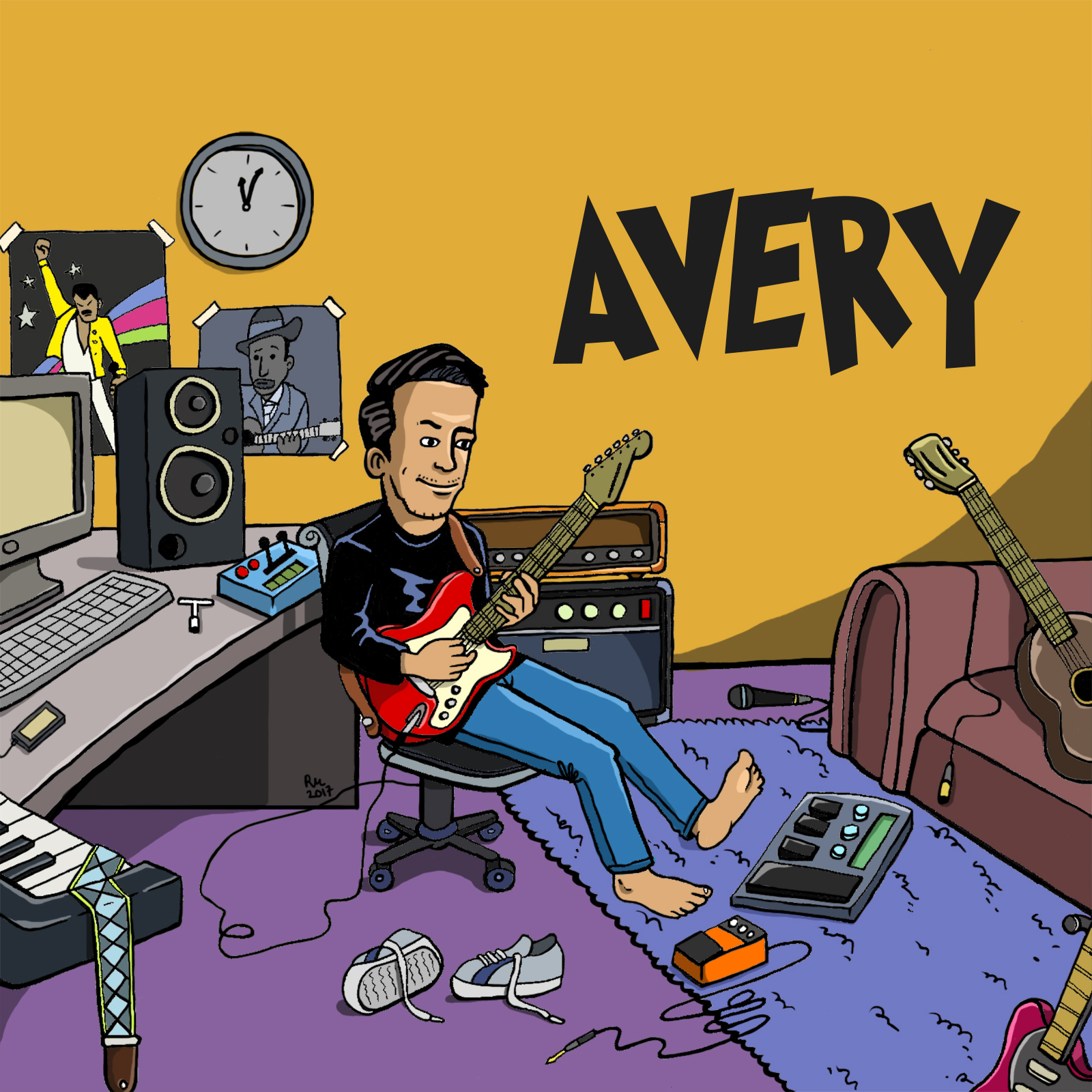 AVERY - AdeaveryMusic Works Release Concert // MWRCTuesday, 11 July 20177pm - 9pmby iCSL℗2017 iLuwi Production