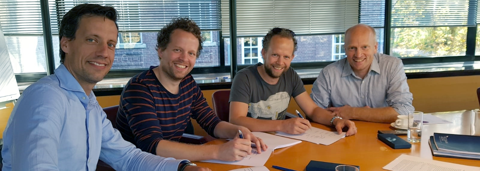 Signing…