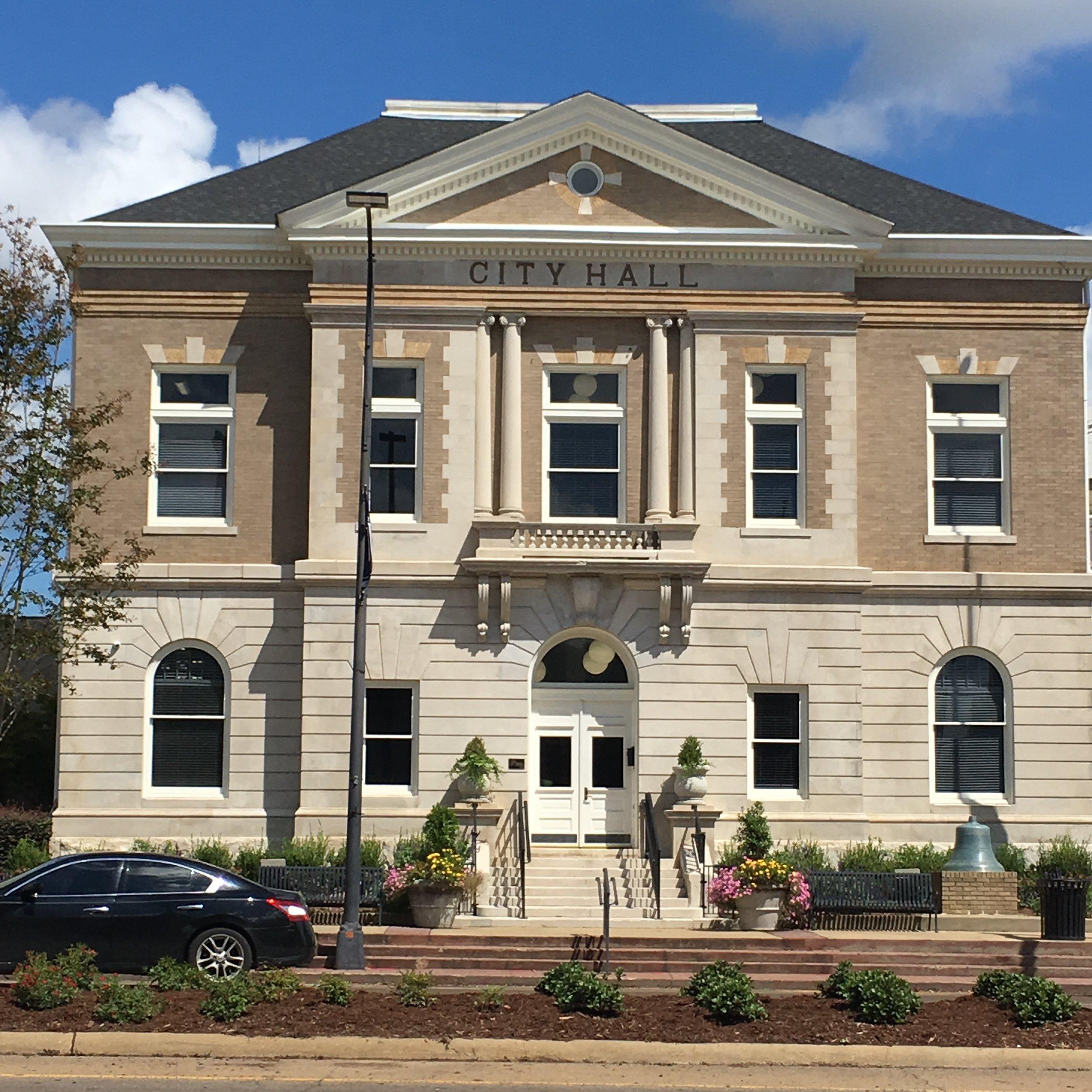 Columbus City Hall Historical Renovation 2017