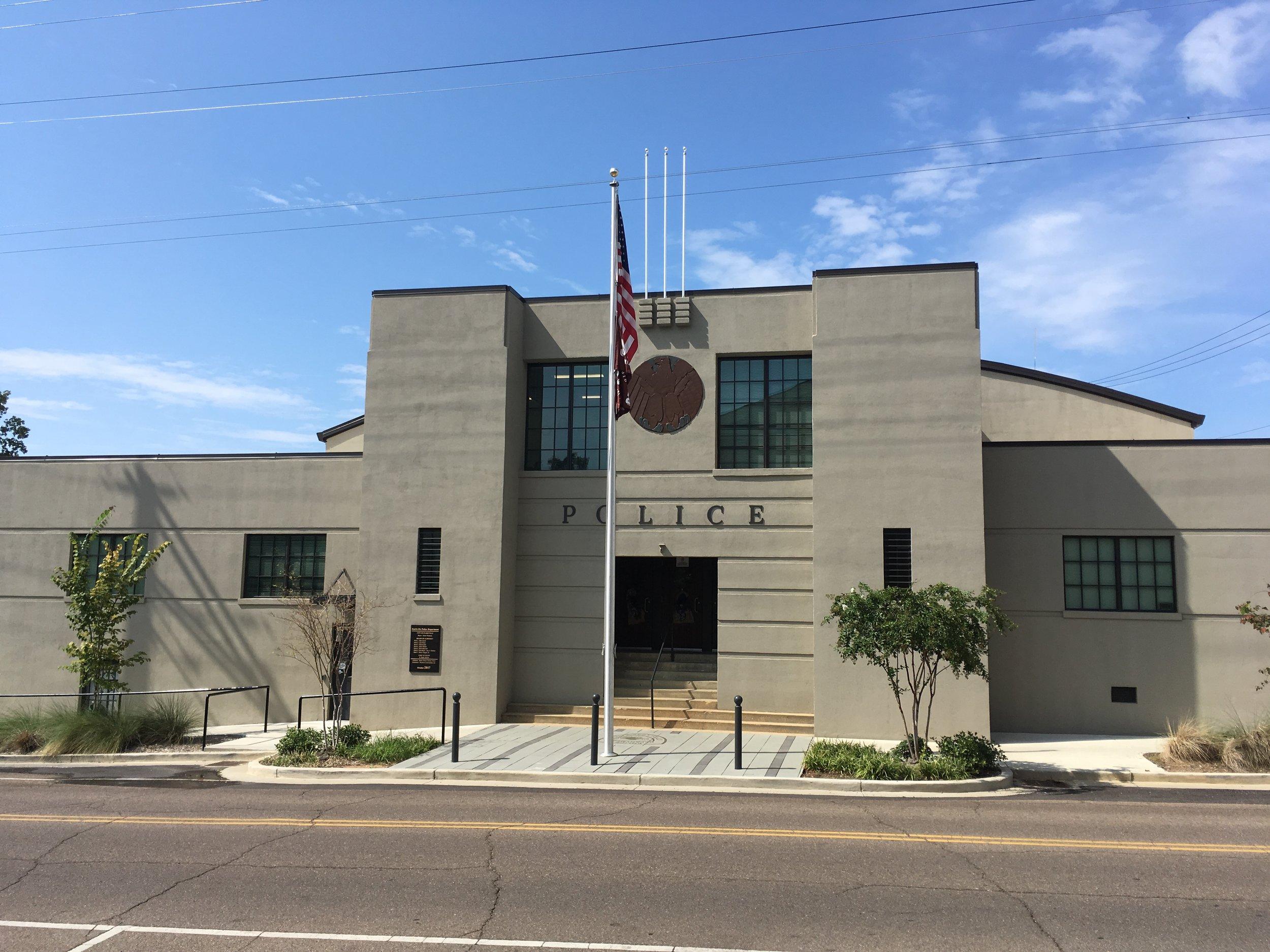 Starkville Police Station - Historical Renovation 2018