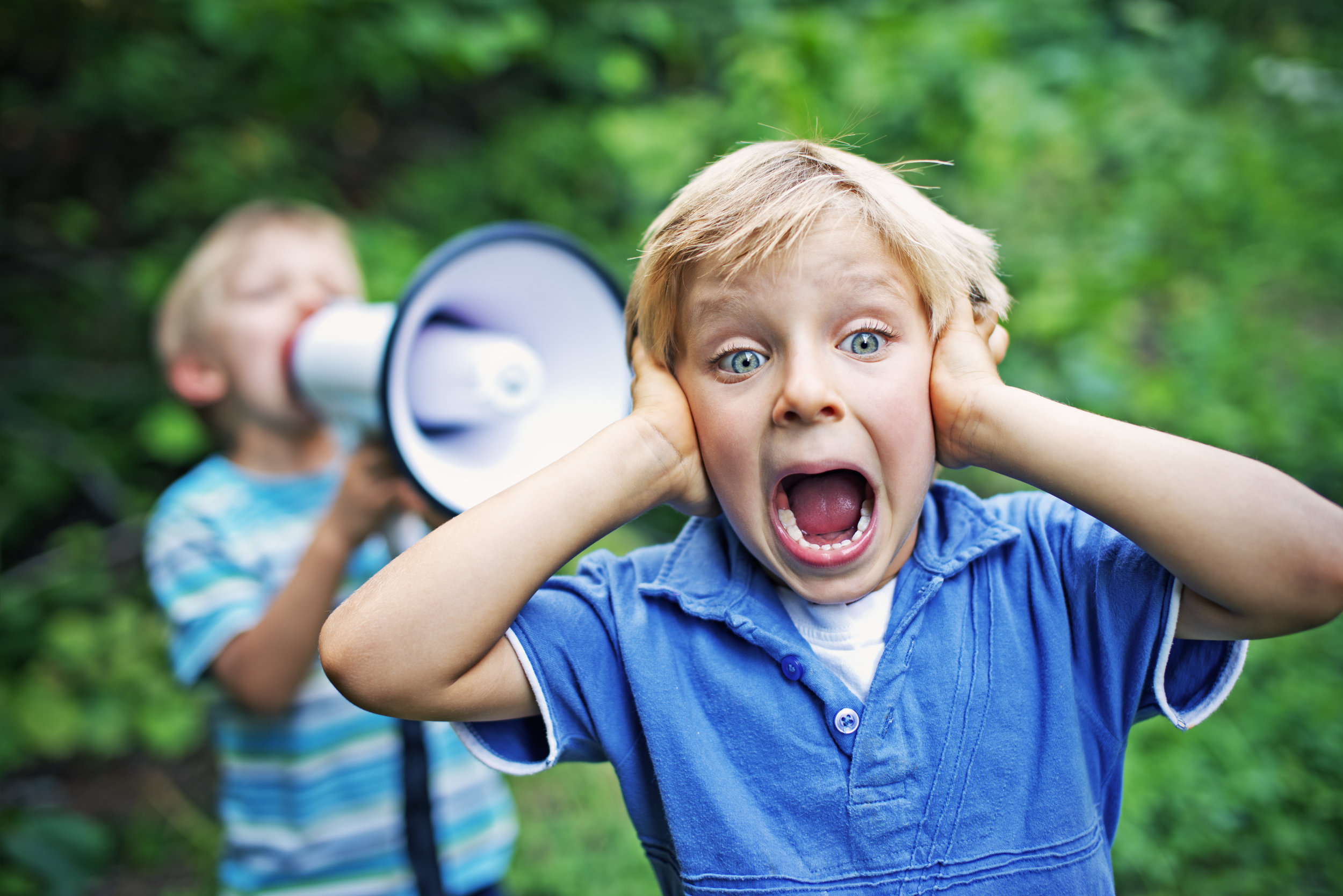 Do you hear that ? - 90% of all kids have times when they can't hear well