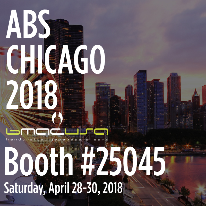 Are you ready CHICAGO!? Come check our booth #25045 at the @americasbeautyshow on April 28-30th. You won't want to miss this event. Feel our scissors for yourself and experience what everyone is talking about! 🏙✂️ - We will also have cutting classes on Sunday, April 29th with  Fumi Eguchi from 1pm to 3pm as well as a class with  Sal Misseri i from 3pm to 5pm. Hope to see you there! 💇