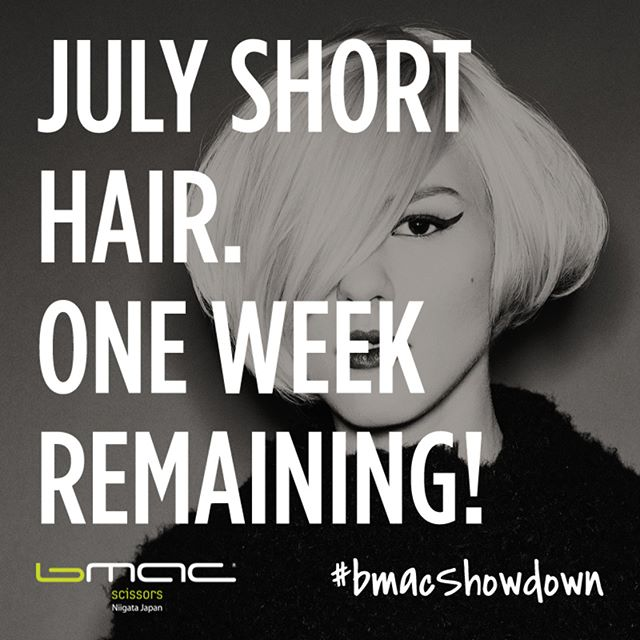 You have one week left to submit entries to be qualified for the monthly #BmacShowdown prize of a scissor for July. So what are you waiting for?? Record and cut this week/weekend and send us your entries! LINK IN BIO for more info or feel free to DM us with any questions. Good Luck! 💚🎥💇 . . . . . . . . . . . . . #hairstylist #hairstylists #hairstylistlife #hairstylistjakarta #hairstylistproblems #hairstylistkl #hairstylisttribe #hairstylistsurabaya #hairstyliste #hairstylistbandung #hairstylistpierre #hairstylistintraining #hairstylistatl #hairstylistph #hairstylistindonesia #hairstylistmagic #hairstylistofinstagram #hairstylistmiami #hairstylistinjamaica #hairstylistchicago #hairstylistforlife #hairstylistsofinstagram #hairstylistjkt #hairstylistsd #hairstylistneeded #hairstylistsby #hairstylistlosangeles