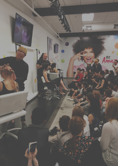 Showcase Your Cutting at a Prestigious Japanese Haircutting Event:Dream Bridge Project - Spread your creativity during your cutting demo on stage in front of several hundred Japanese stylists in Tokyo and Kyoto hair contest event,�Dream Bridge Project�.