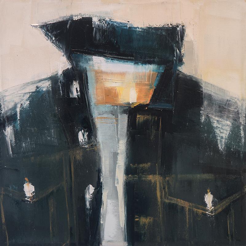 wayne decle - 12x12 - oil on canvas - 2015