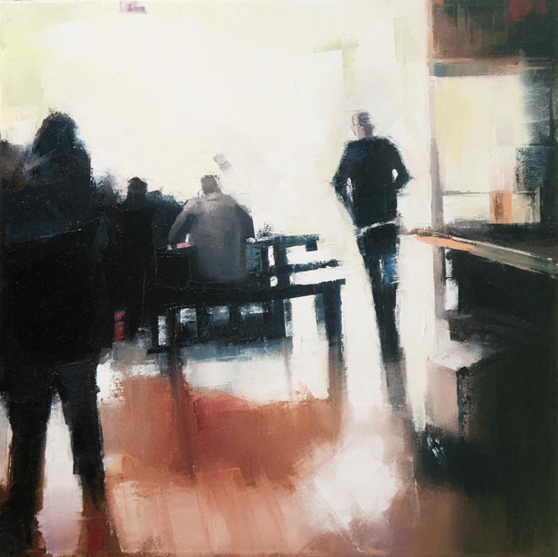 blackstrap bbq - 12x12 inches - oil on canvas - 2013