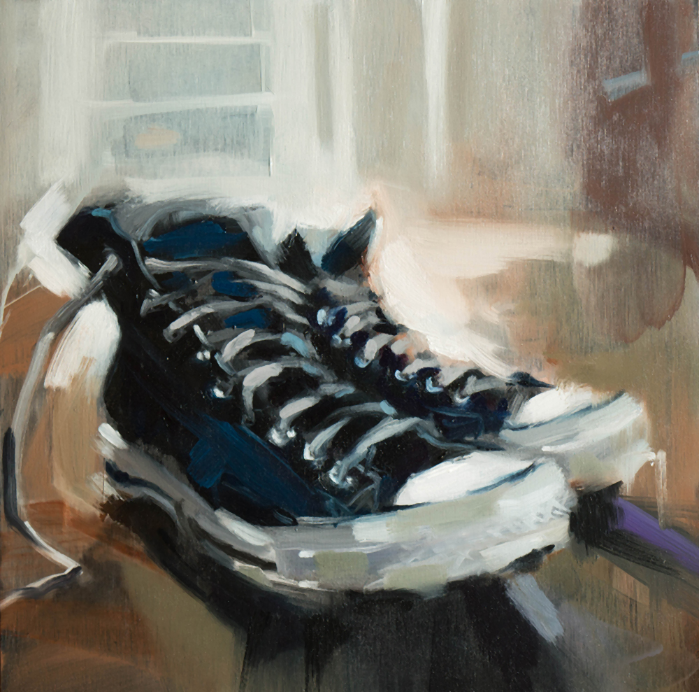 All Star - 12x12 inches - oil on wood board - 2017