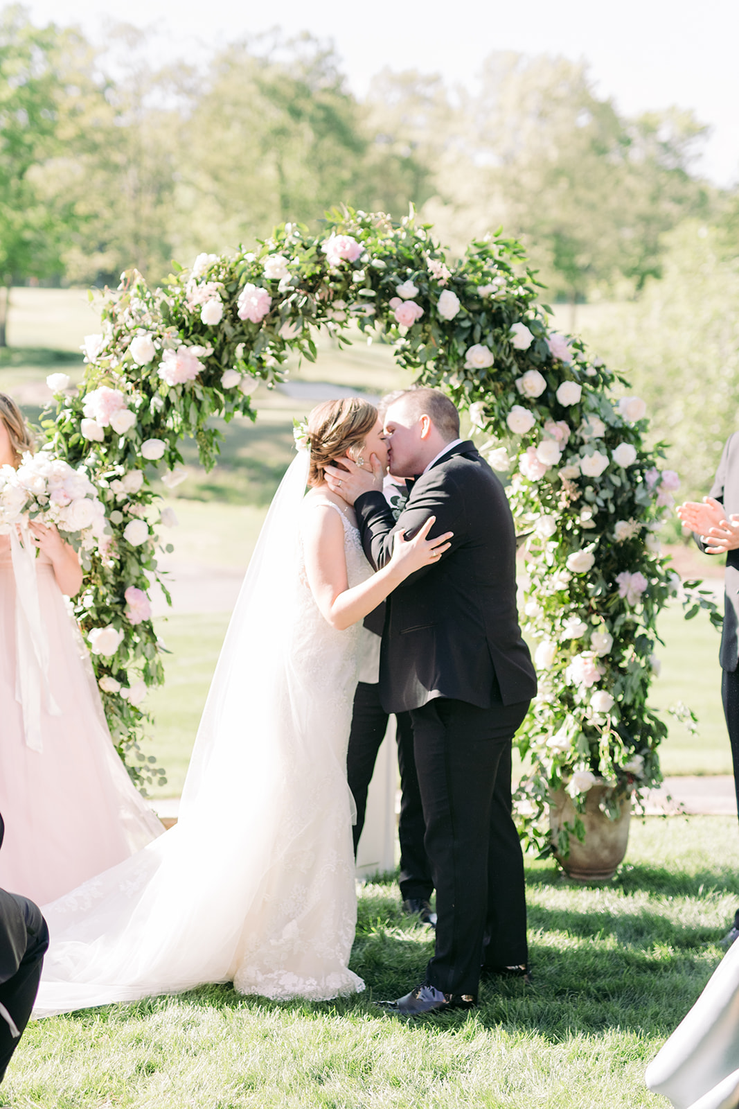 Virginia Tented Outdoor Spring Wedding