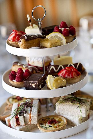 Afternoon tea at Pryors