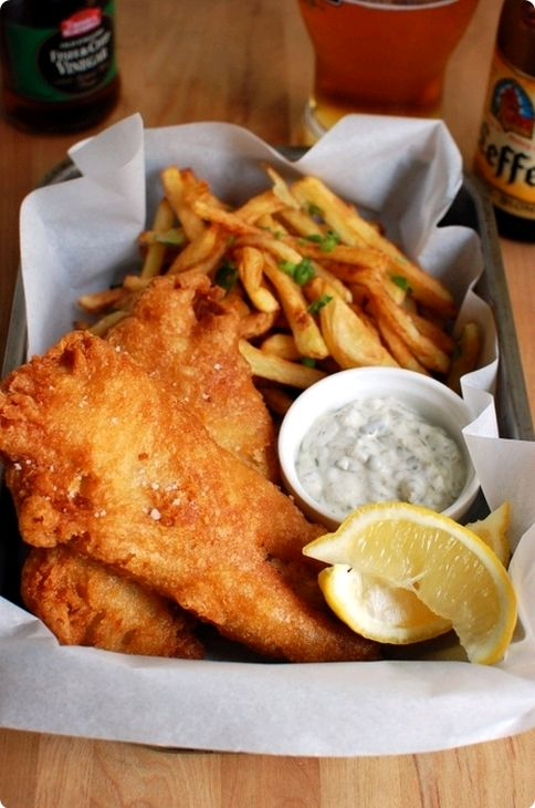 Good old fish and chips