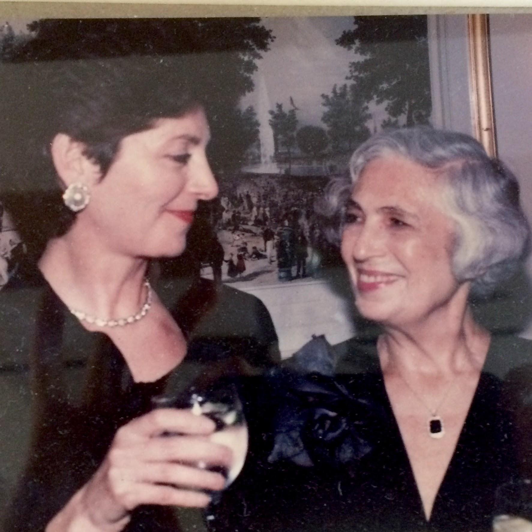 Anna and Rhoda, 1996.