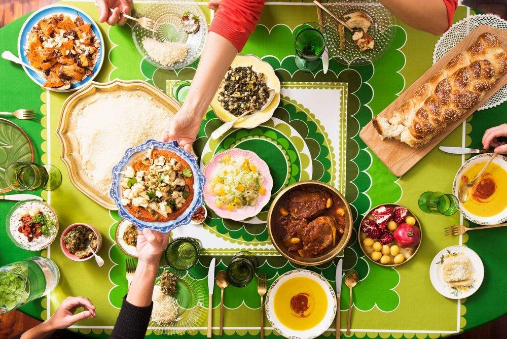 Sukkah Dining: Moroccan Fava Bean Soup with Harissa — Jewish Food Society