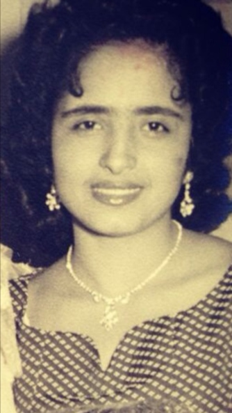Ayala's mother, Yafa (Maheen) Saadia.