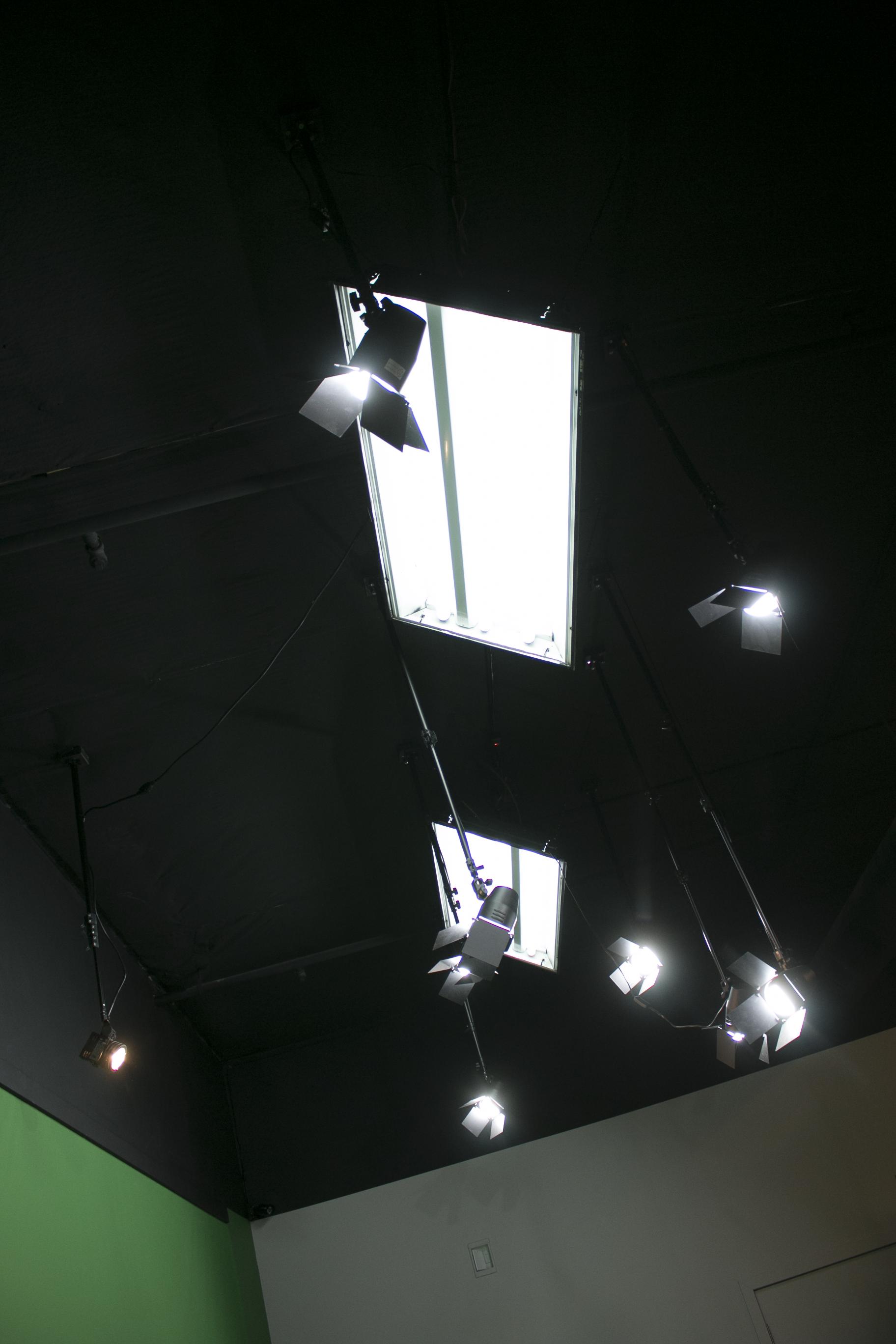 Lighting is pre-set